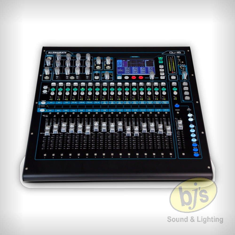 Allen & Heath QU-16 Digital Mixer 7