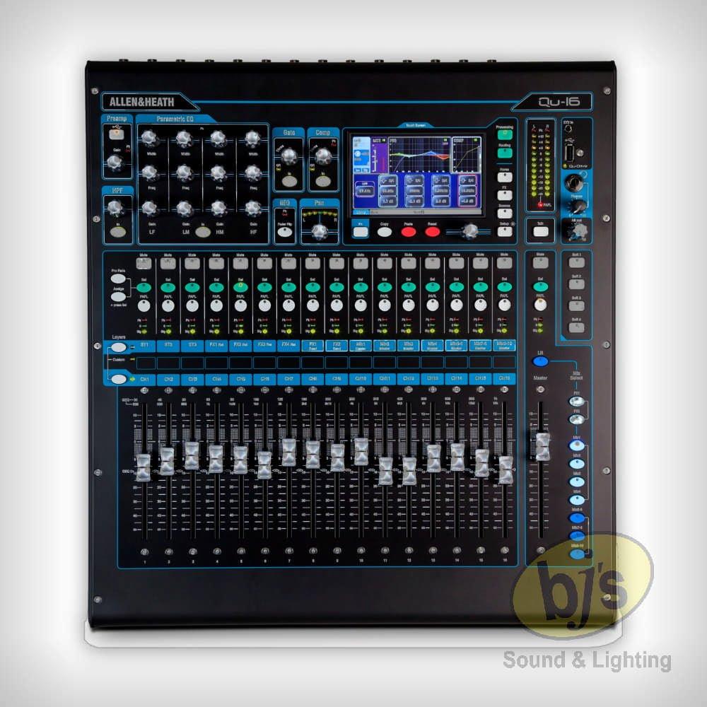 Allen & Heath QU-16 Digital Mixer 10