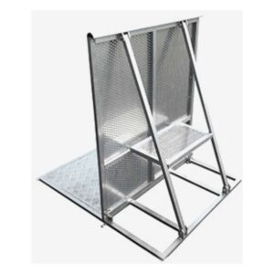 Crowd Barrier 1m Alloy Section