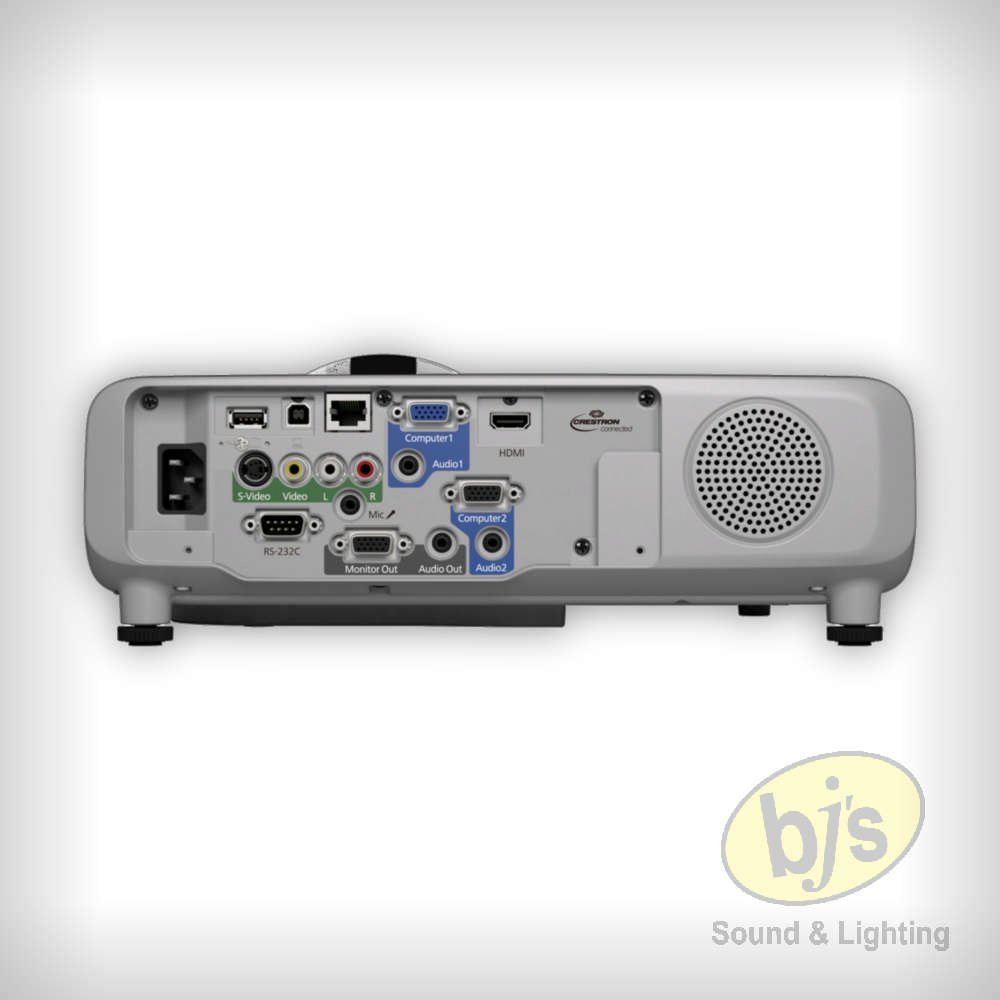 BJs Sound & Lighting Hire - EP 535 Rear bjs web w