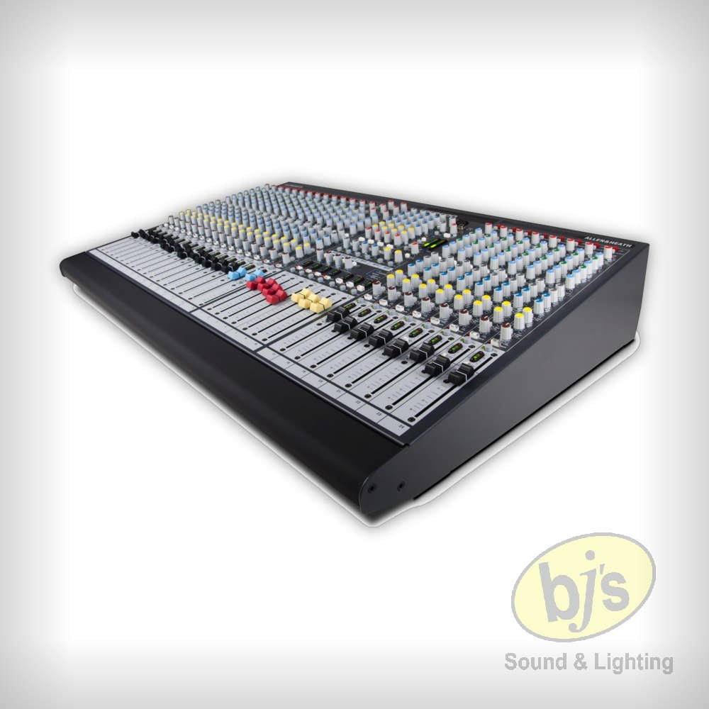 Allen Heath Gl2400 24 Live Console Mixer Bjs Sound Lighting Hire Audio Mixers Projects Circuits 7