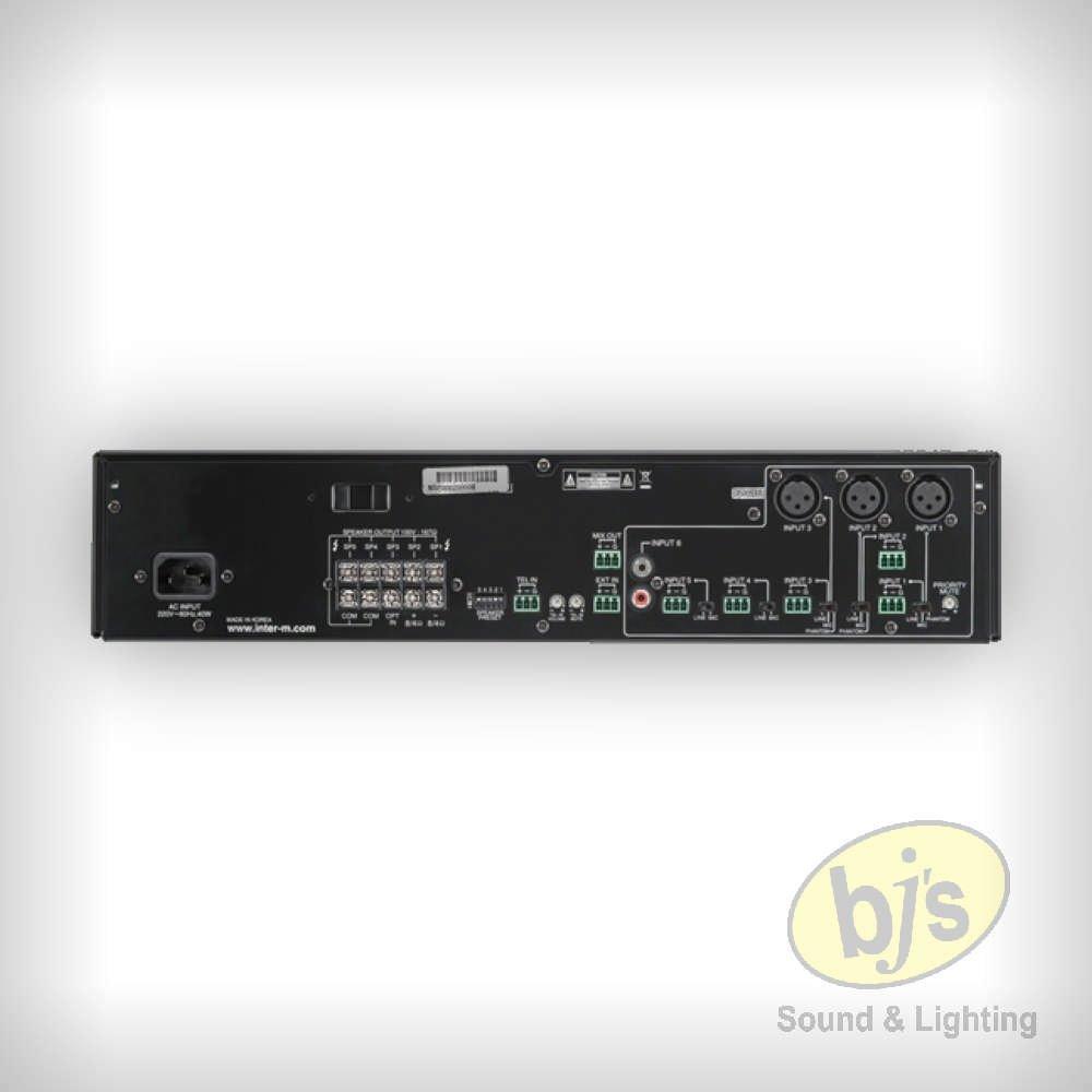 BJs Sound & Lighting Hire - pam120 rear bjs web w