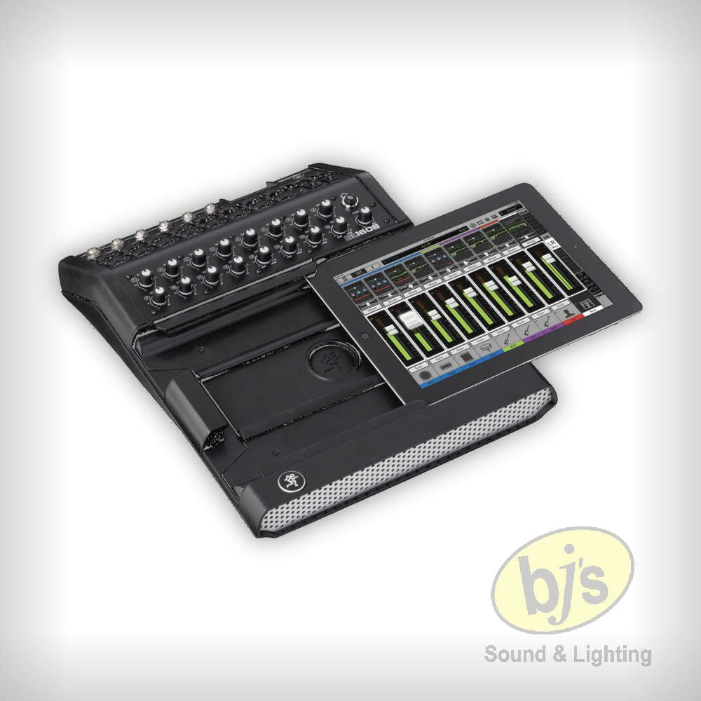 control lighting with ipad. Mackie DL1608 16-Channel Live Sound Digital Mixer With IPad Control - BJs \u0026 Lighting Hire Ipad