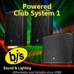 BJs Sound & Lighting Hire - Powered Club System 1 500px