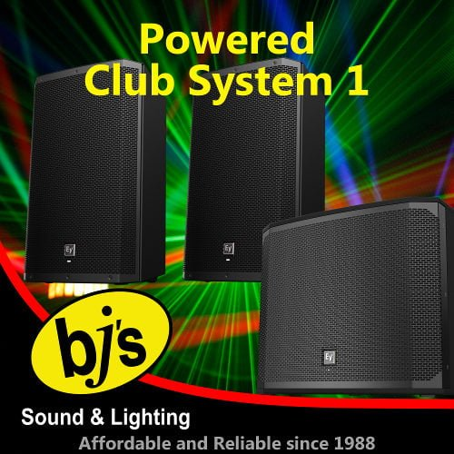 Powered Club System Pack 1 1