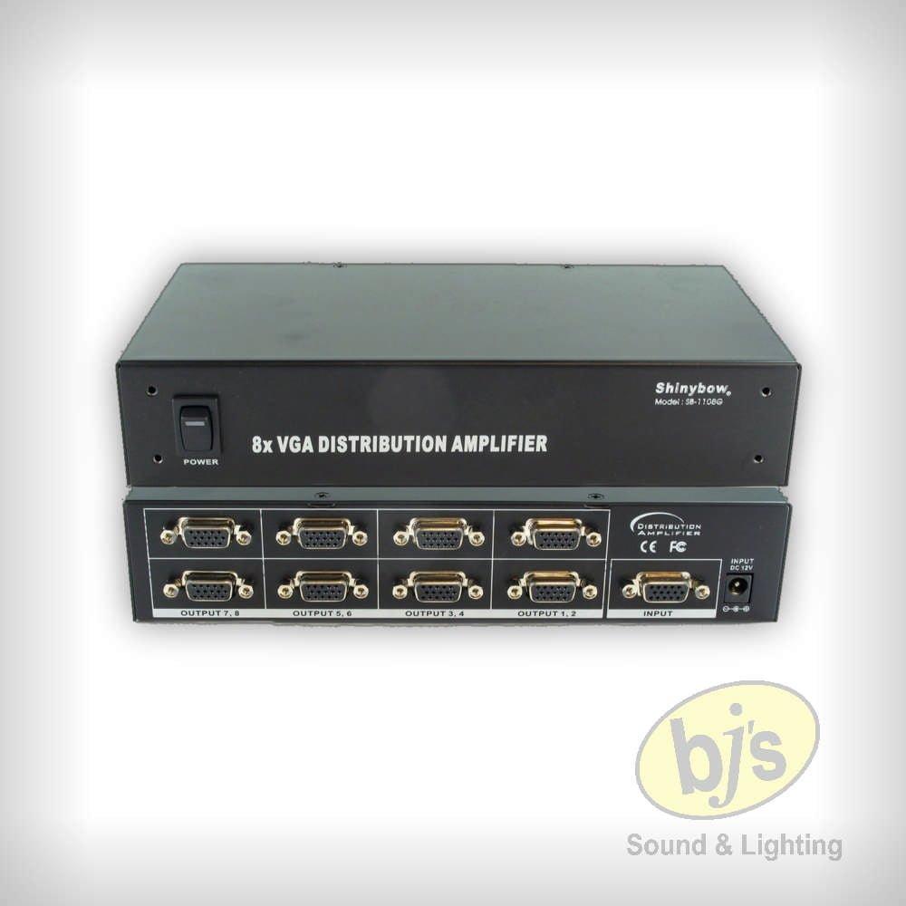 1x8 VGA Distribution Amplifier 1