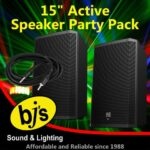 BJs Sound & Lighting Hire - 15inch active Party Pack 500px
