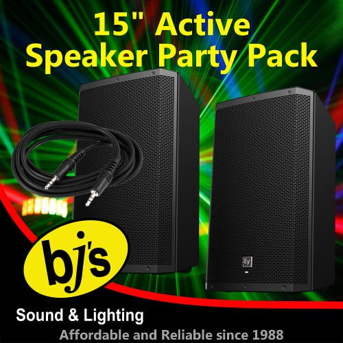 """ZLX 15"""" Active Party Pack 1"""