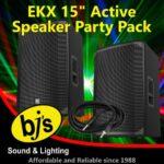 BJs Sound & Lighting Hire - EKX 15inch Active Party Pack 500px