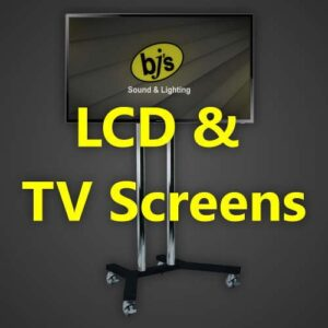 BJs Sound & Lighting Hire - LCD TV Screens 500px