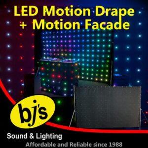 LED Motion Drape & Facade Pack