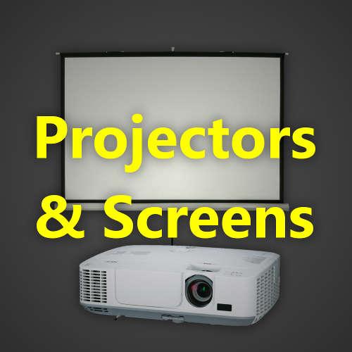 Projectors & Screens