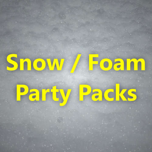 Snow/Foam Party Packs