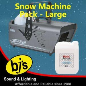 Snow Machine Pack Large
