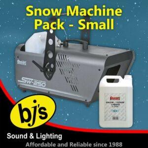 Snow Machine Pack Small