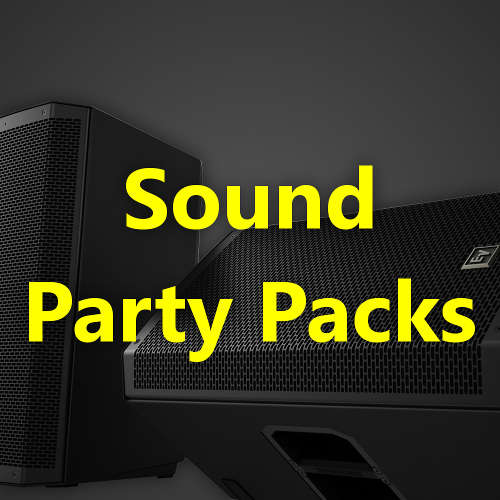 Sound Party Packs