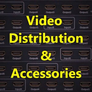 BJs Sound & Lighting Hire - Video Distribution Accessories 500px