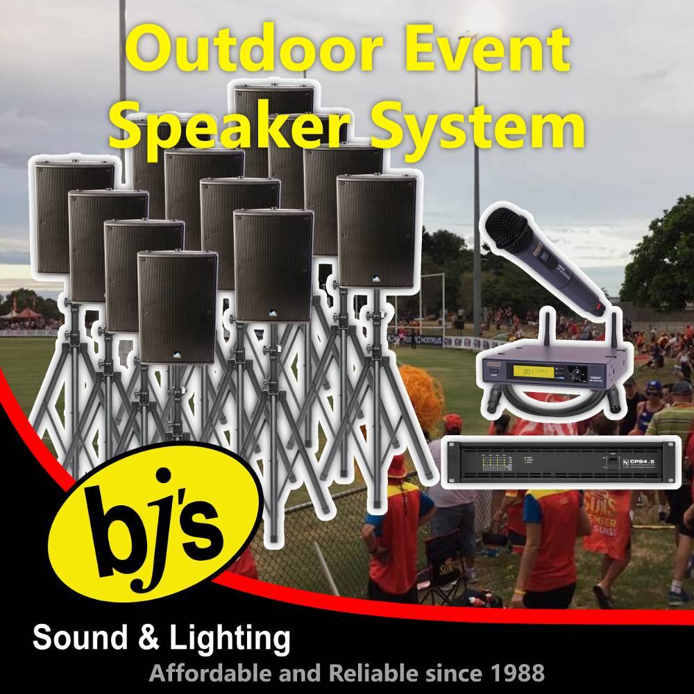 Outdoor Event Speaker System 1
