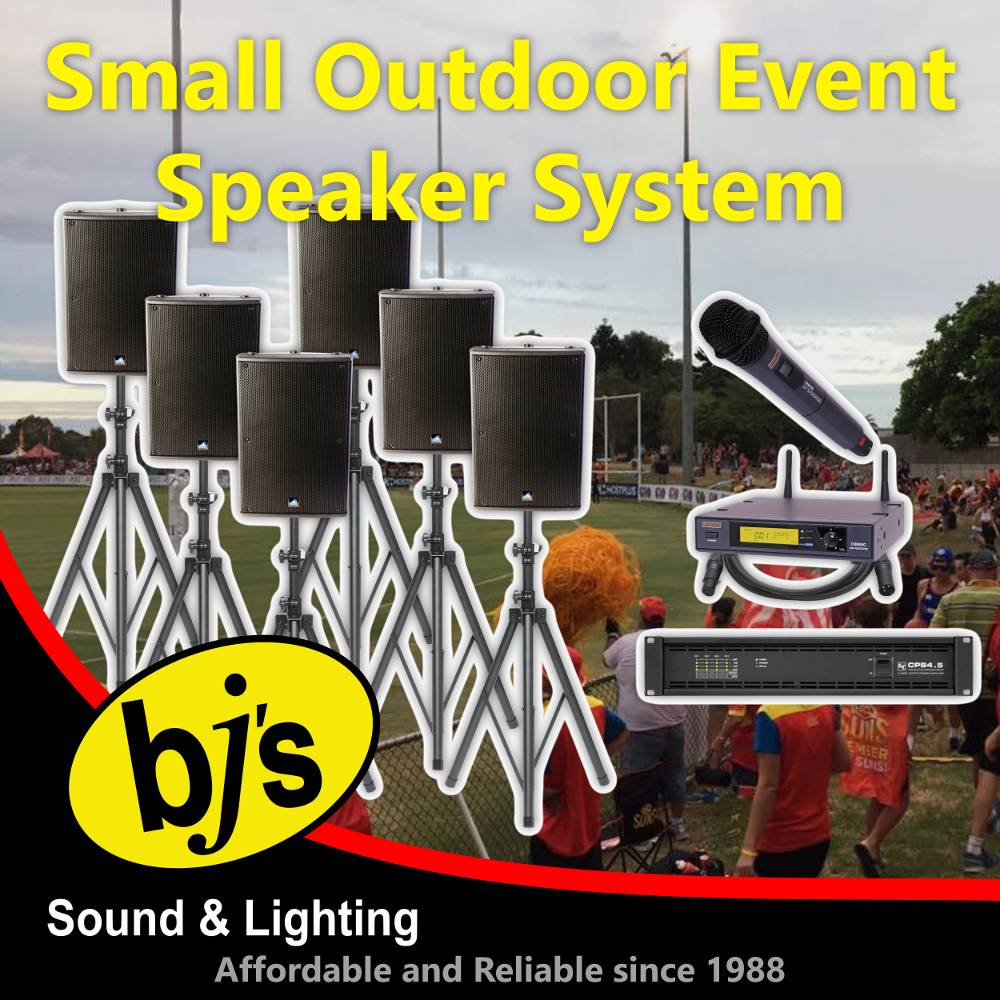 Outdoor Event Speaker System - Small 1