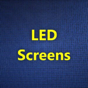 BJs Sound & Lighting Hire - LED Screens 500px