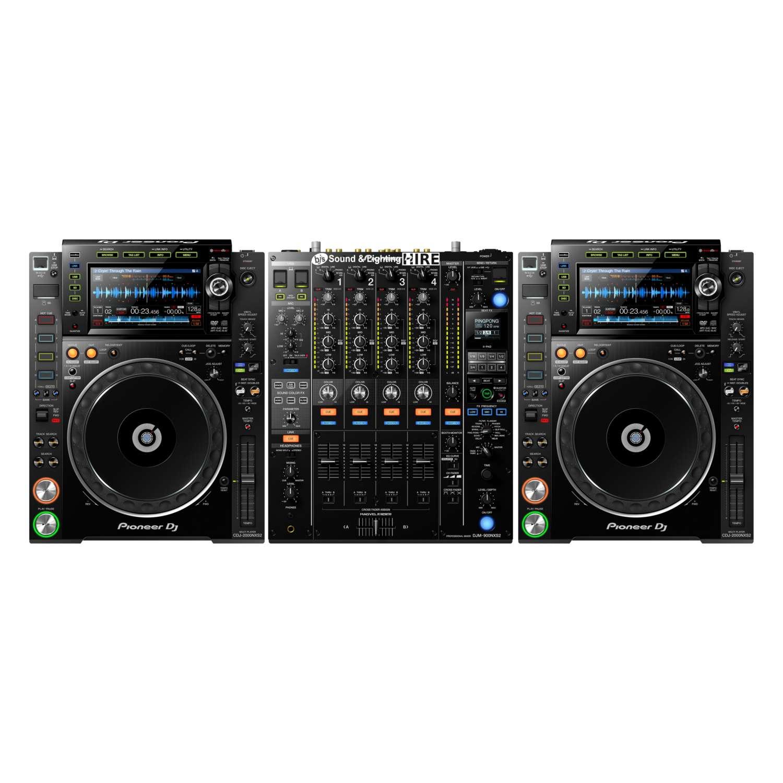 Pioneer DJ System 2x CDJ2000NXS2 + DJM900NXS2 1