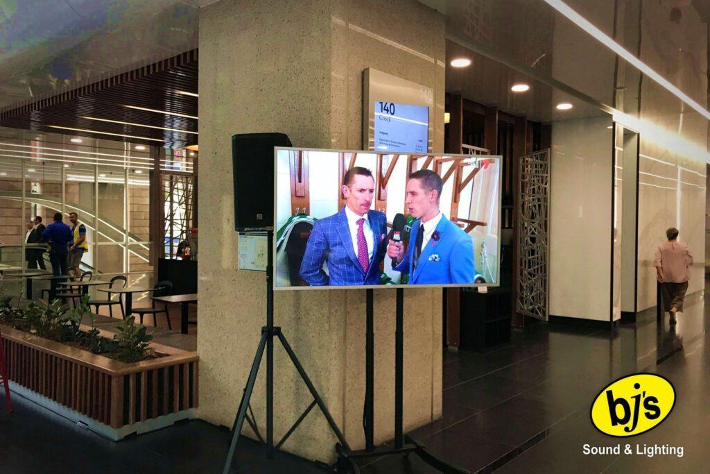 Melbourne Cup TV Big Screen