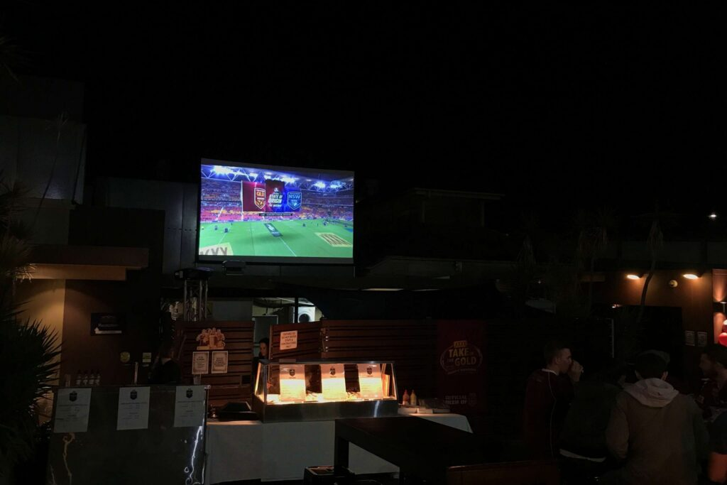 State of Origin Big Screen