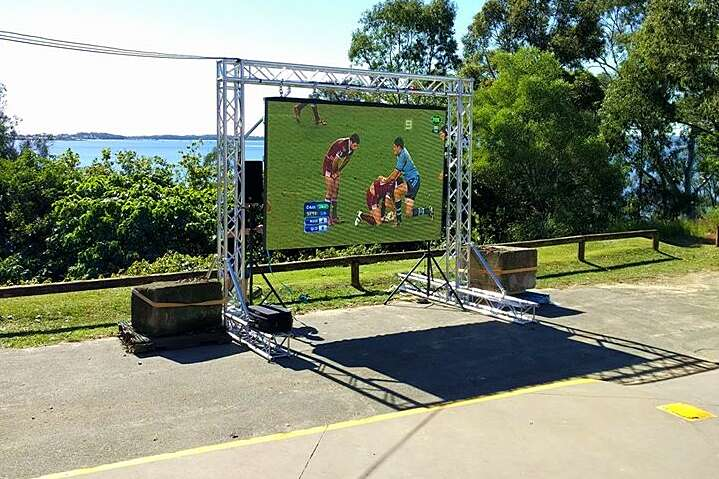 State of Origin LED Screen