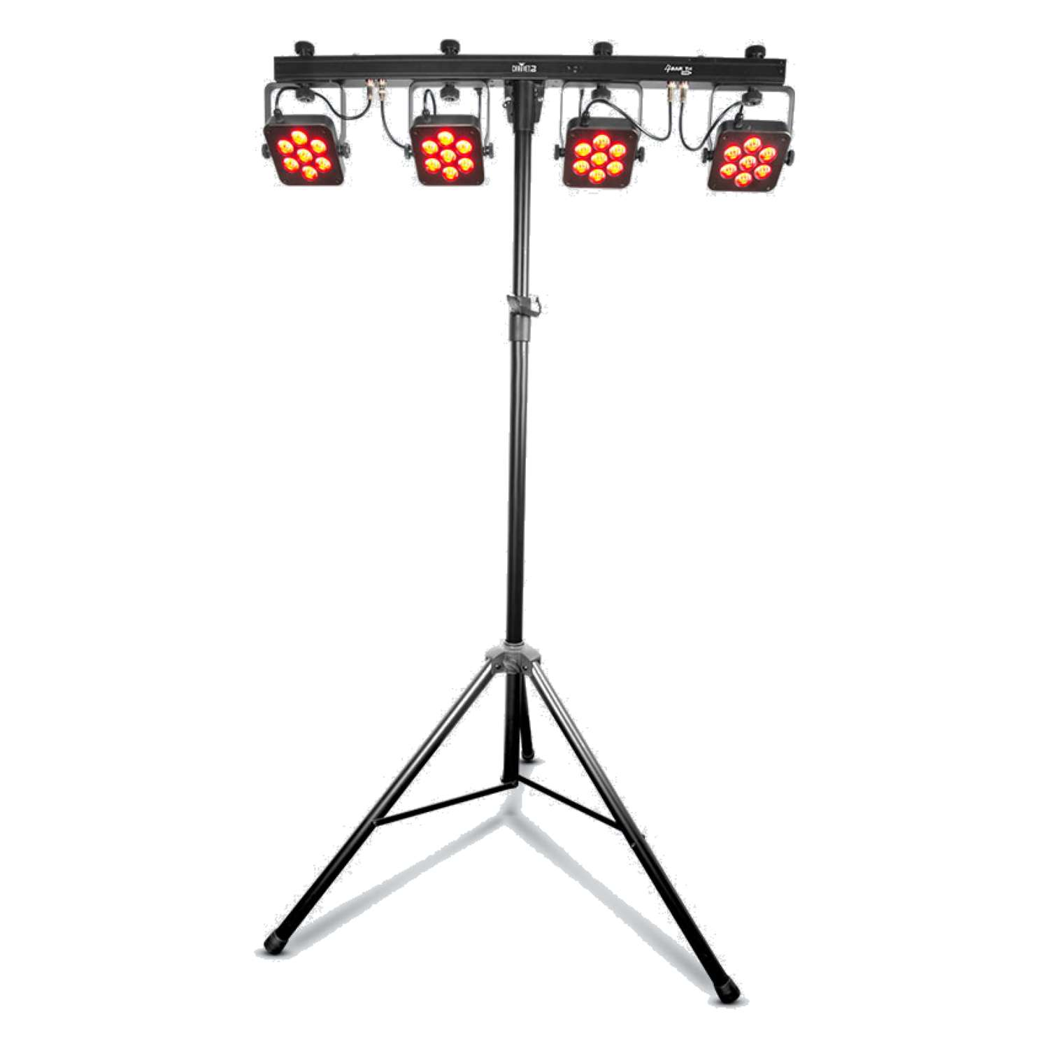 Chauvet DJ 4BARTRIUSB 4BAR TRI USB4 x LED Par 28 x 3 Watt TRI LEDs on DMX Bar 5