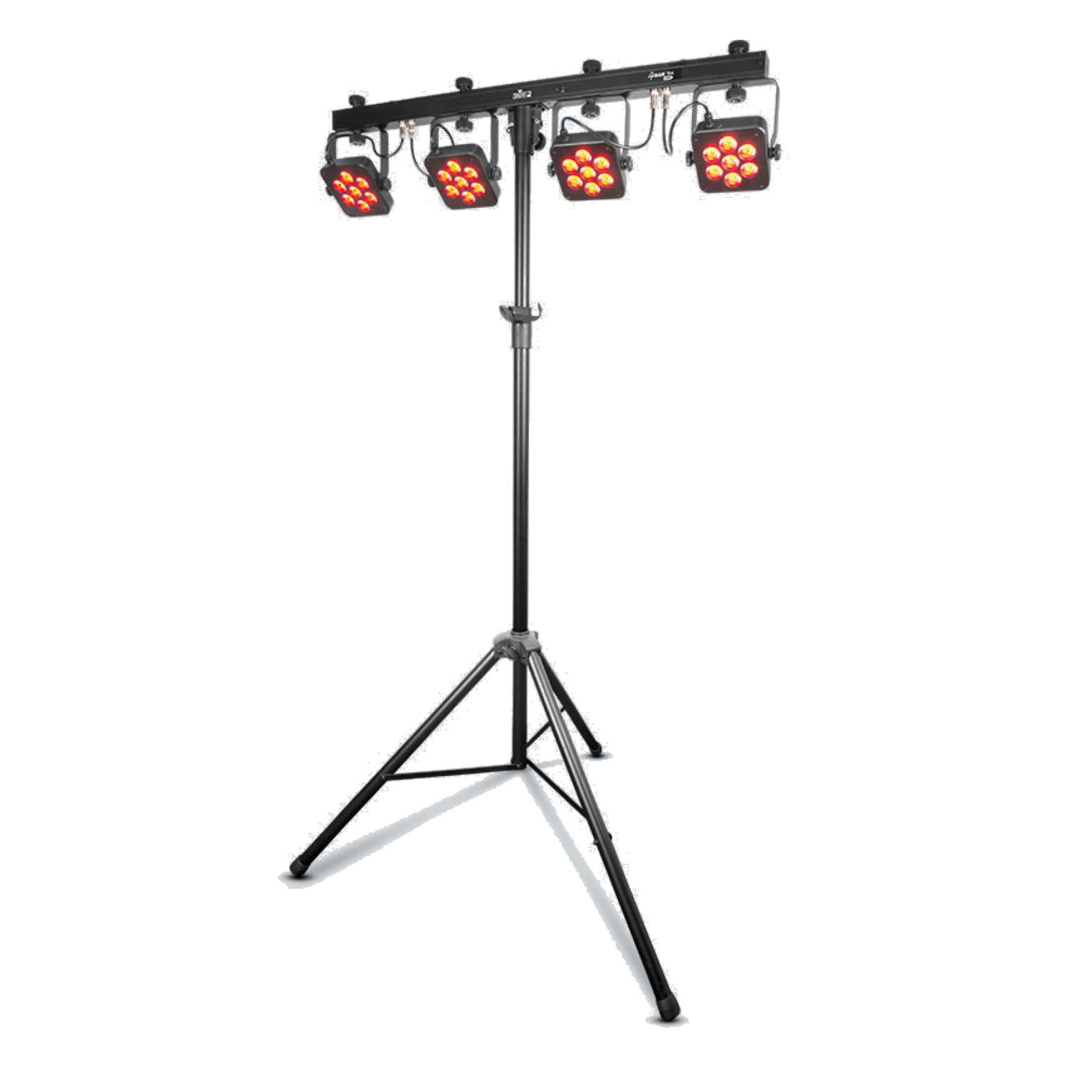 Chauvet DJ 4BARTRIUSB 4BAR TRI USB4 x LED Par 28 x 3 Watt TRI LEDs on DMX Bar 1