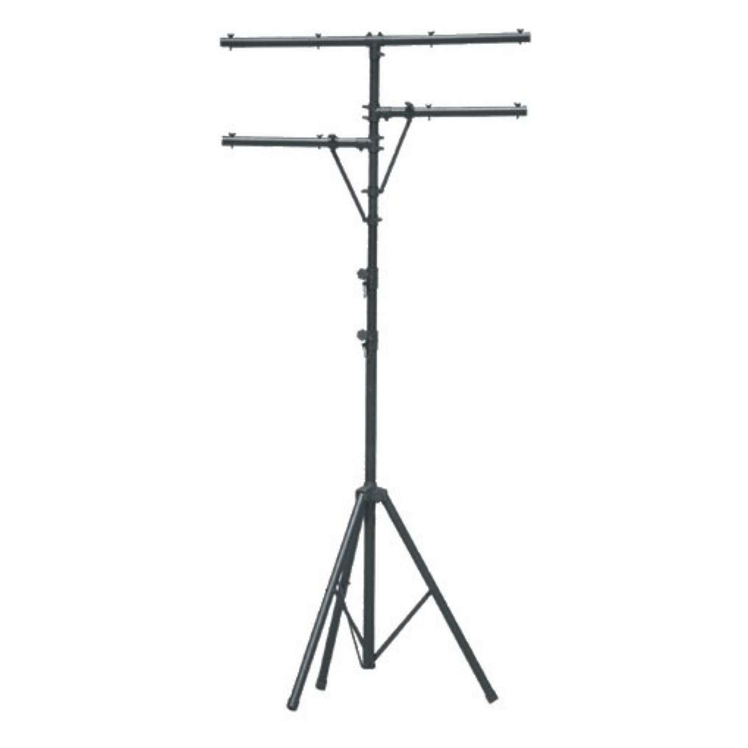 SoundKing LTS1B Aluminium Lighting Stand with T Bar and Side Arms. 3.25 m. 1