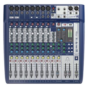 Soundcraft Signature 12 Ch Mixer With Usb And Fx
