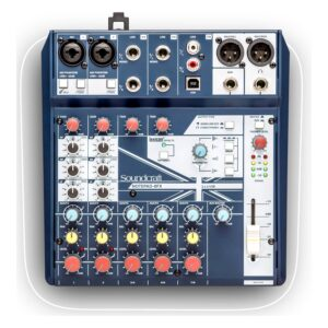 Soundcraft Notepad 8fx Mixing Console With Usb I/O + Fx