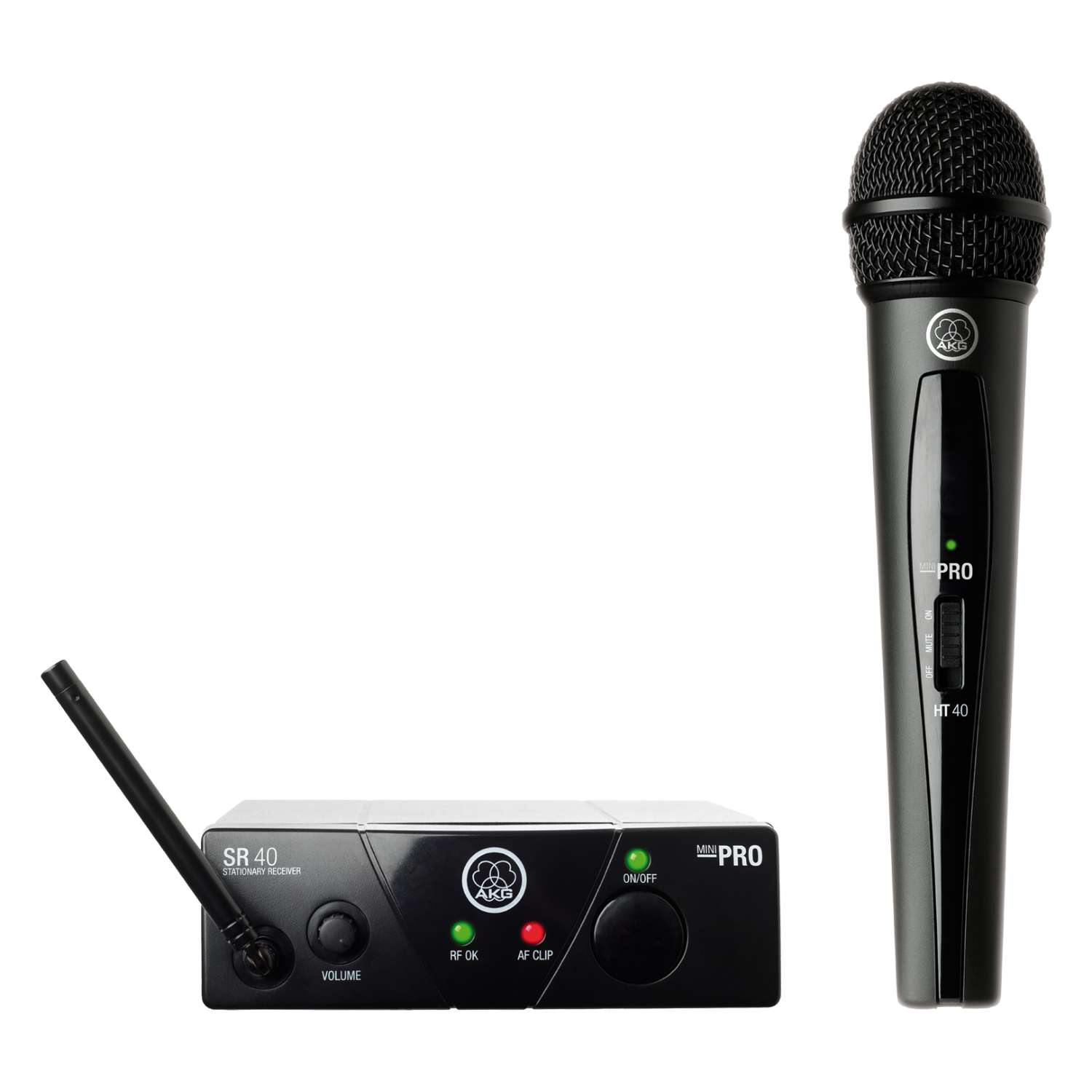 AKG US25 WMS40 Mini Single Vocal Set Band B (537.900Mhz) 1