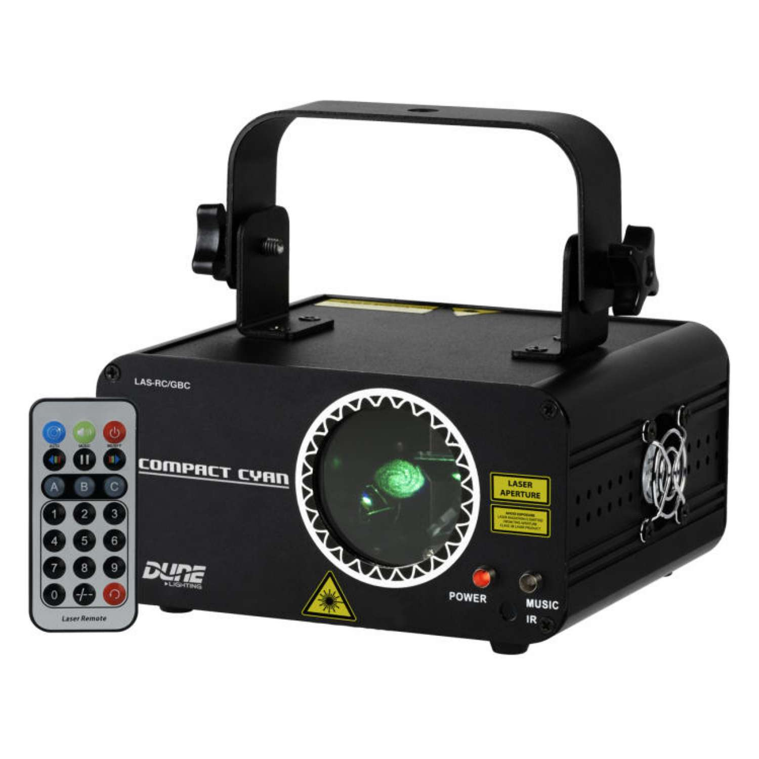 CR Laser Compact Cyan 120mW Cyan Laser With Remote 1