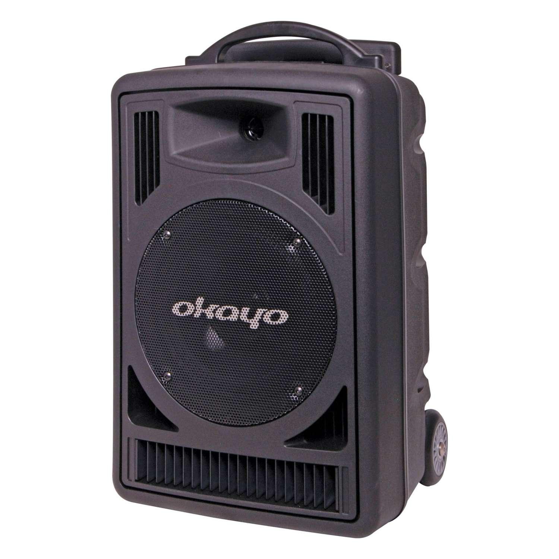 Okayo C7202C Portable PA 120w with Dual 520mHz UHF Receiver & Bluetooth 1