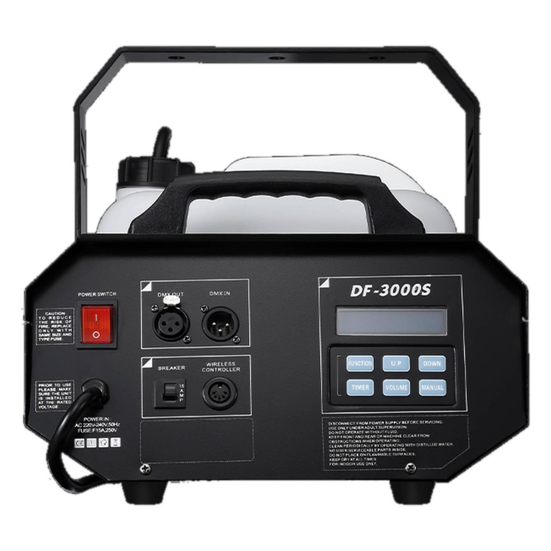 DJ Power DF-3000S 1800W DMX Fog Machine 5
