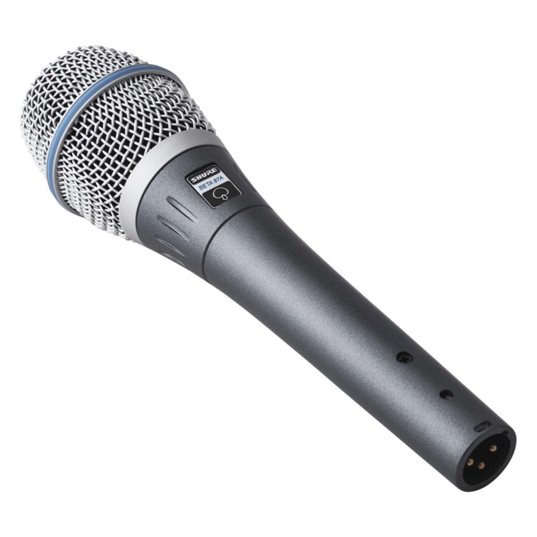 Shure BETA87A SuperCardioid Condenser Vocal Microphone 2