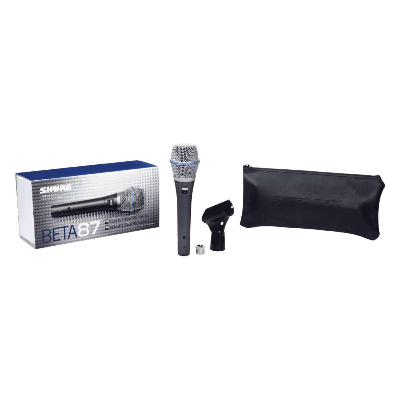 Shure BETA87A SuperCardioid Condenser Vocal Microphone 4