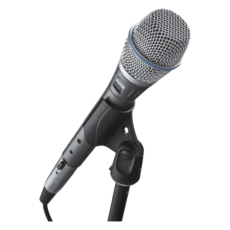 Shure BETA87A SuperCardioid Condenser Vocal Microphone 5