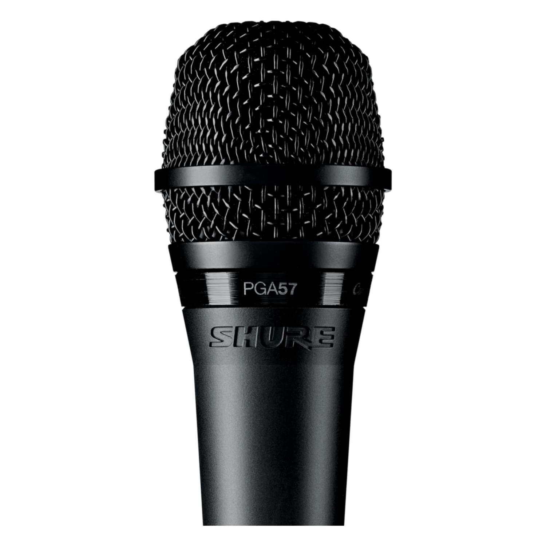 Shure PGA57XLR Microphone Dynamic Lo Z Instrument Cardioid + XLR-XLR Cable 2