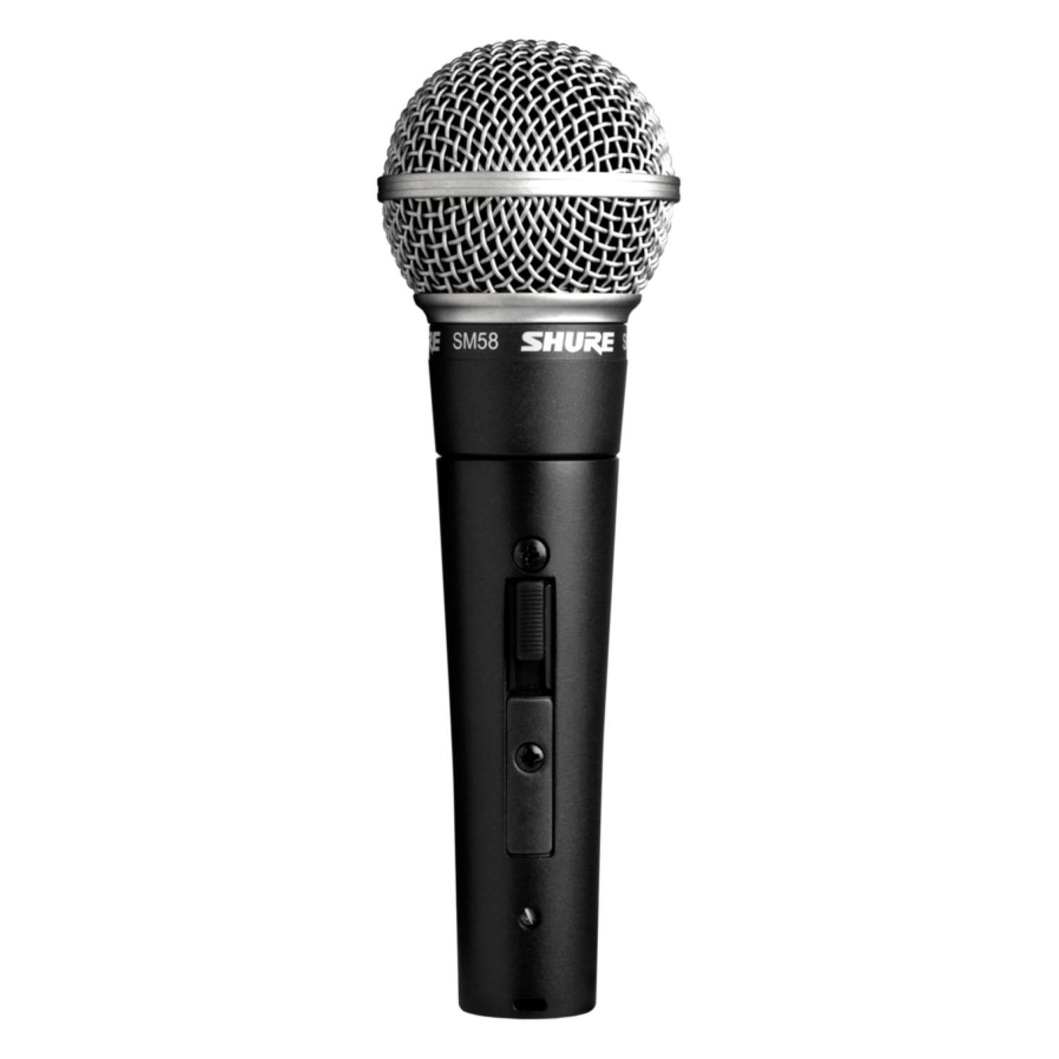 Shure SM58S Vocal Cardioid Dynamic Microphone w. Switch 1