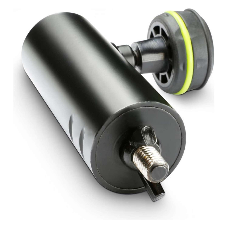 Gravity - GSF36M10M Speaker Flange Adapter 35mm speaker pole to M10 thread (incl. wing-nut) 3
