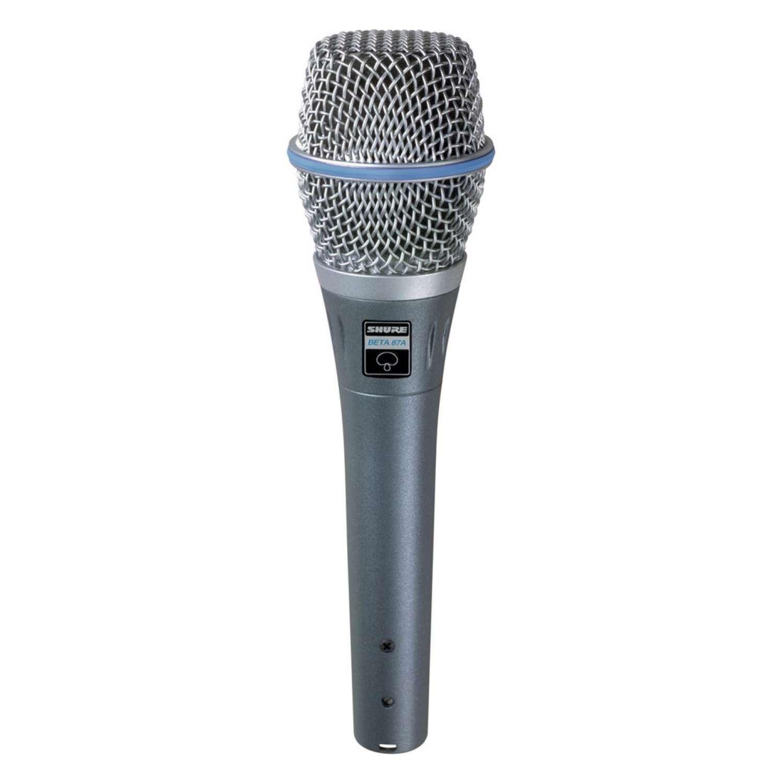 Shure BETA87A SuperCardioid Condenser Vocal Microphone 1