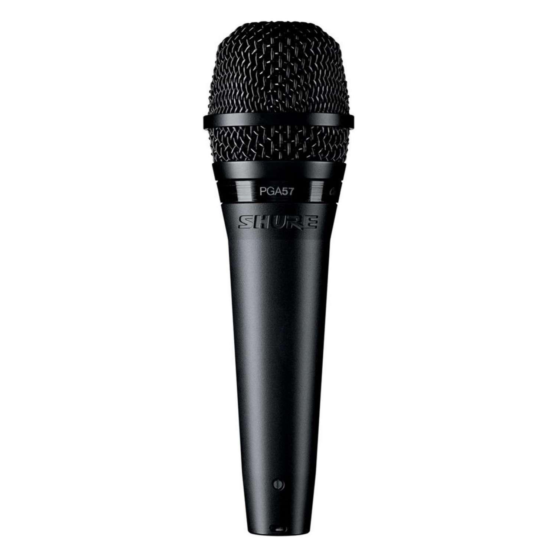 Shure PGA57XLR Microphone Dynamic Lo Z Instrument Cardioid + XLR-XLR Cable 1