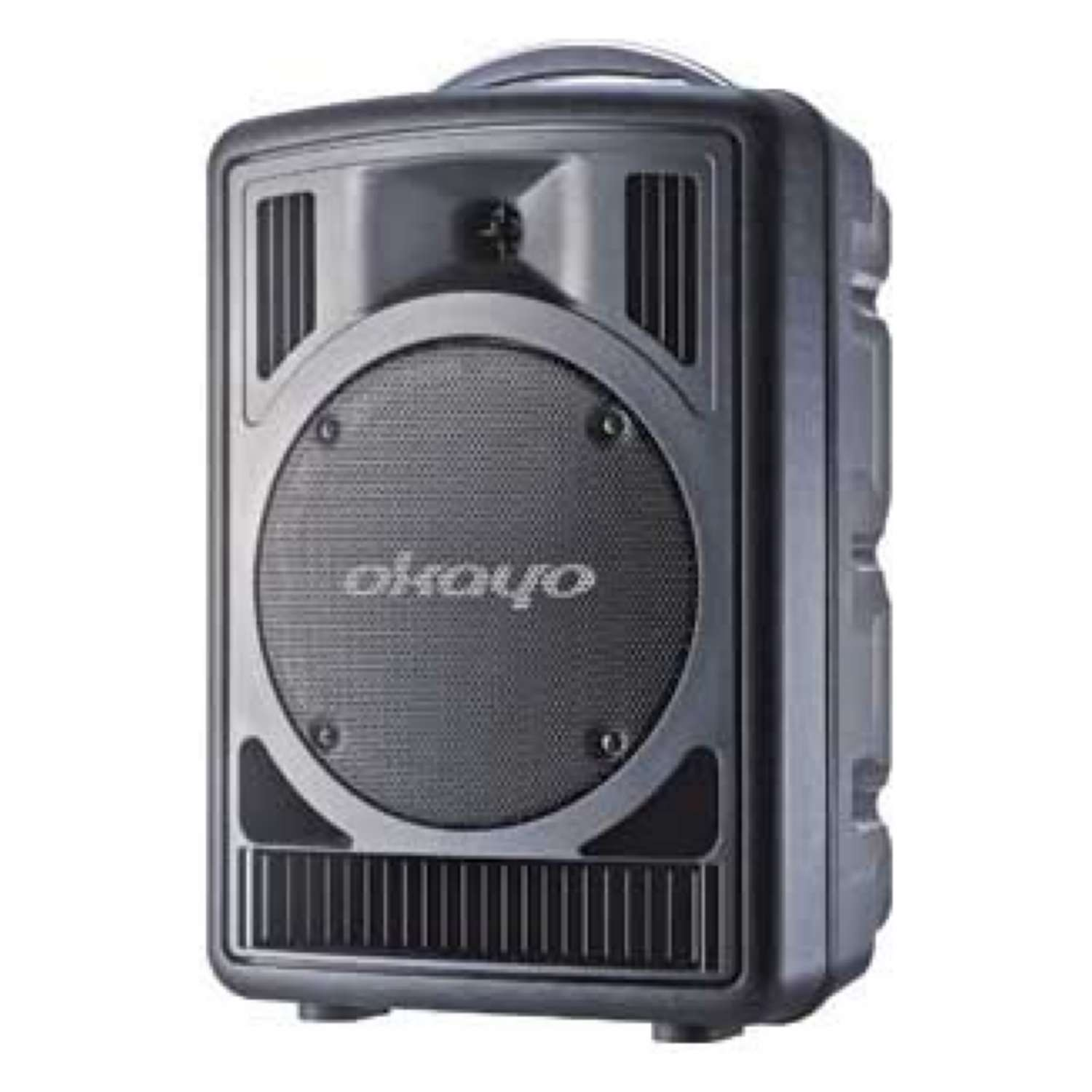 Okayo C7182C Portable PA 80W with Dual 520MHz UHF Receiver 1