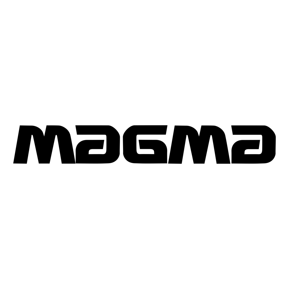 BJs Sound & Lighting - Brand Magma Logo Square Black
