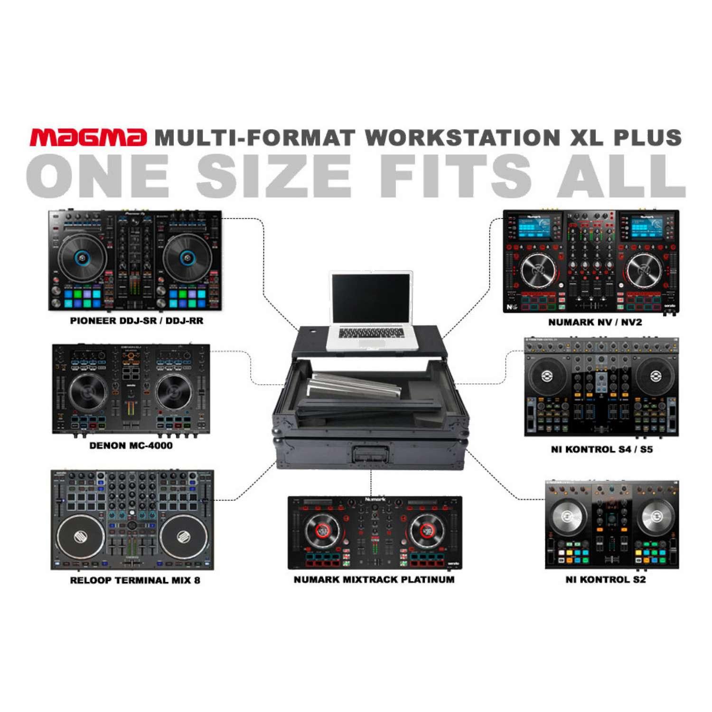 Magma 40981 Multi-Format Workstation Roadcase XL Plus 6