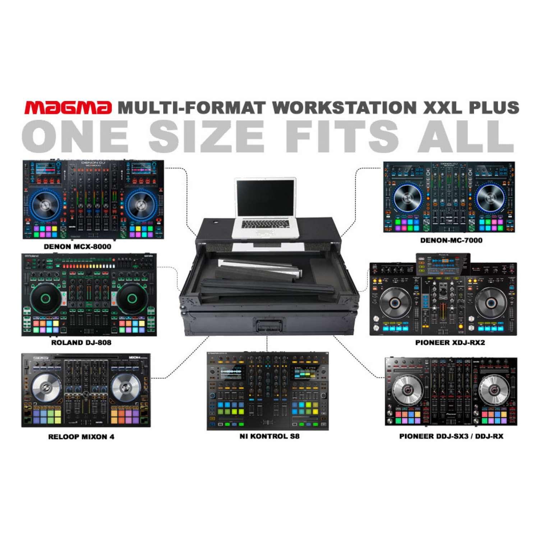 Magma 40982 Multi-Format Workstation Roadcase XXL Plus 7