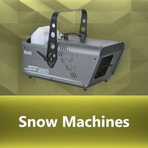 BJs Sound & Lighting - 0080 Snow Machines bjs web